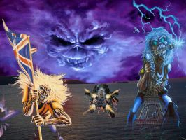 IRON MAIDEN wallpaper number 1 by painkillers