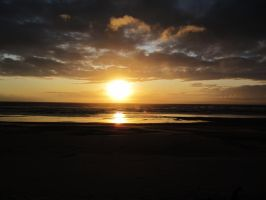 Beach Sunset 9 -- Sept 2009 by pricecw-stock