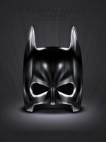 Batman Mask icon set by Svengraph