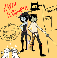 Bleh. Happy Hallloween by Arcana-break
