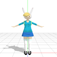 Fionaa - Adventure Time MMD by narutoxbase