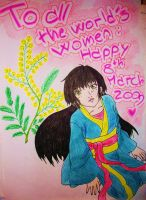 8th march YuGhi Hee by PiccolaGhI