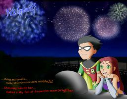Fireworks by DickGraywolf