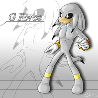 G Force the Echidna by Ulta