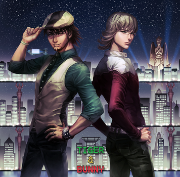 Tiger and Bunny by narcissusid