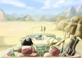 On The Road- Hitchhiker by s0s2