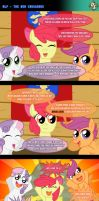 MLP - The New Crusaders (COMIC) by AniRichie-Art