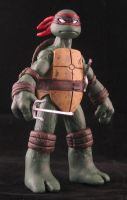 Raphael Ross Campbell Mirage style TMNT by plasticplayhouse