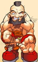 ZANGIEF BABY by TeoGonzalezColors
