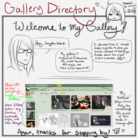 Welcome to my gallery! by CrypticGrin