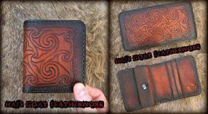 Pictish Wallet by Half-Goat