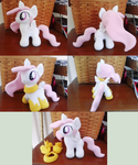 Filly Celestia Plush by MintyStitch