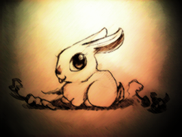 Overwhelming Bunny Cuteness by Theriona