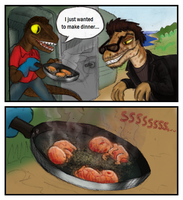 Species-swap: The Lost World Jurassic Park by killb94