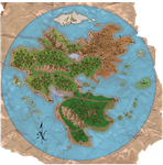 World Map Numbered by UndefinedScott