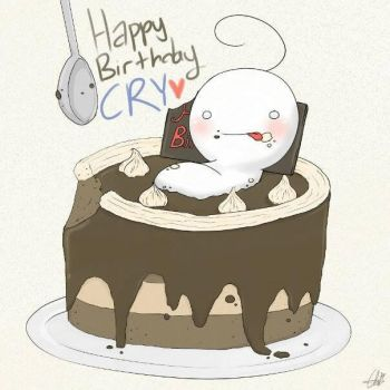 Happy B'day Cry by ChiKirarin