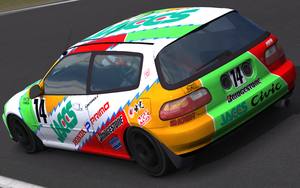 Jaccs Civic Group A '93 by QtoR