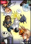 halloween in kingdom hearts by Sandra-delaIglesia