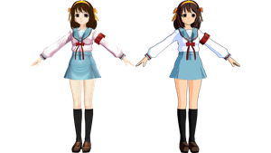 Model Style Vote by Haruhi-chan4ever