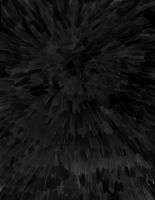 Black Feathered Background Letter. SAI Experiment by Fragment-City