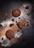 Homemade chocolate cookies by BeKaphoto