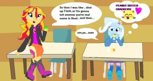 PEANUT BUTTER CRACKERS :3 by sunnybunnymew