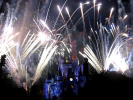 Disney Fireworks 11 by ModernMessiah-Photos