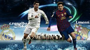 Cristiano Ronaldo vs Lionel Messi by PONITA-GOLD-EVIL