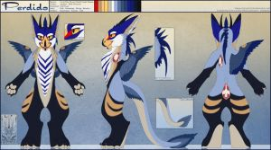 Personal - Perdido Fursuit Ref Sheet by TwilightSaint