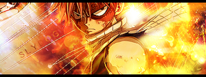 Fairy Tail Signature Banner 2 by Slydog0905