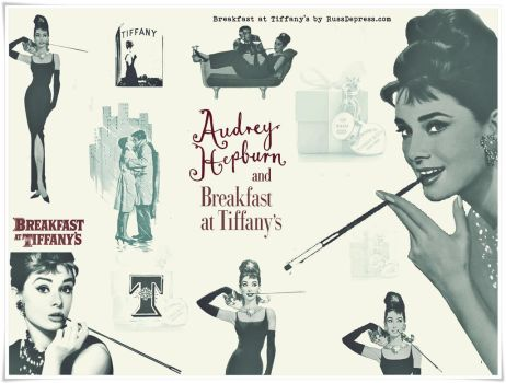 Breakfast at Tiffany's Hi-Res Photoshop Brushes by iCatchUrDream