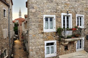 Budva's old town by Zelma1