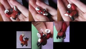 Red Fox Pendant by Tirrih