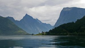 Fiord in Norway by francis1ari