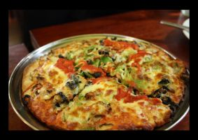 Vegetarian Pizza. 1.0 by meL-xiNyi