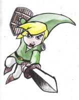 Toon Link Colored by Kyg0n