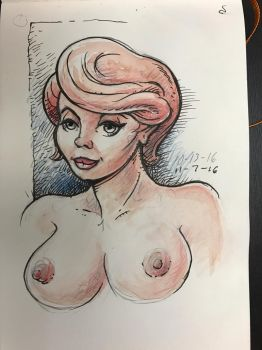 Sketchbook nude by MJBivouac
