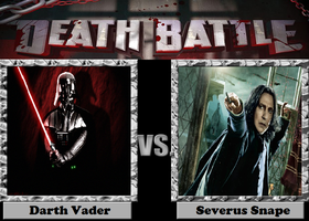 Darth Vader vs. Severus Snape by JasonPictures