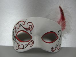 Musical Masquerade Mask by maskedzone