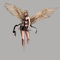 Angel by Maheby