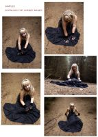 Forest Gothic 1 - set by xNatje-stock