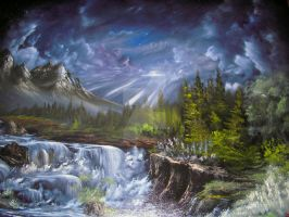 Midnight Falls by Redford-1Scapeartist