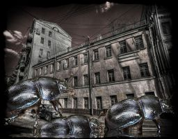 The Invaders 02 by Godino