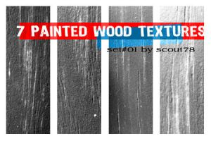 7 painted wood textures by scout78