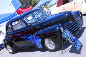 Black Widow 48 Ford by StallionDesigns
