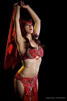 Scarlet Witch the Belly Dancer by HollyGloha