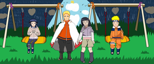Naruhina month day 14-Swings :) by Fran48