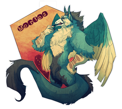 Badge Commission for RainWolfe by VetroW