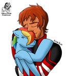 Hug for the Firefighter by Aileen-Rose