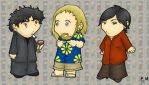black books cast by PleaseFreezeMe